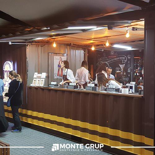 Cafe Büfe Konteyneri