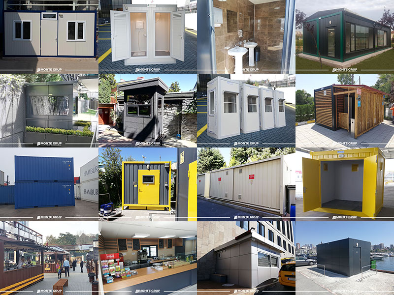 Konteyner Yapıların Kullanım Alanları